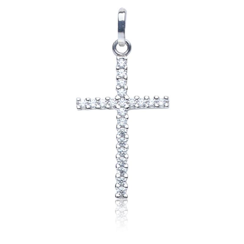 Kettenanhänger Kreuz, 585 Gold