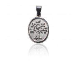 Kettenanhänger Lebensbaum, 925 Silber