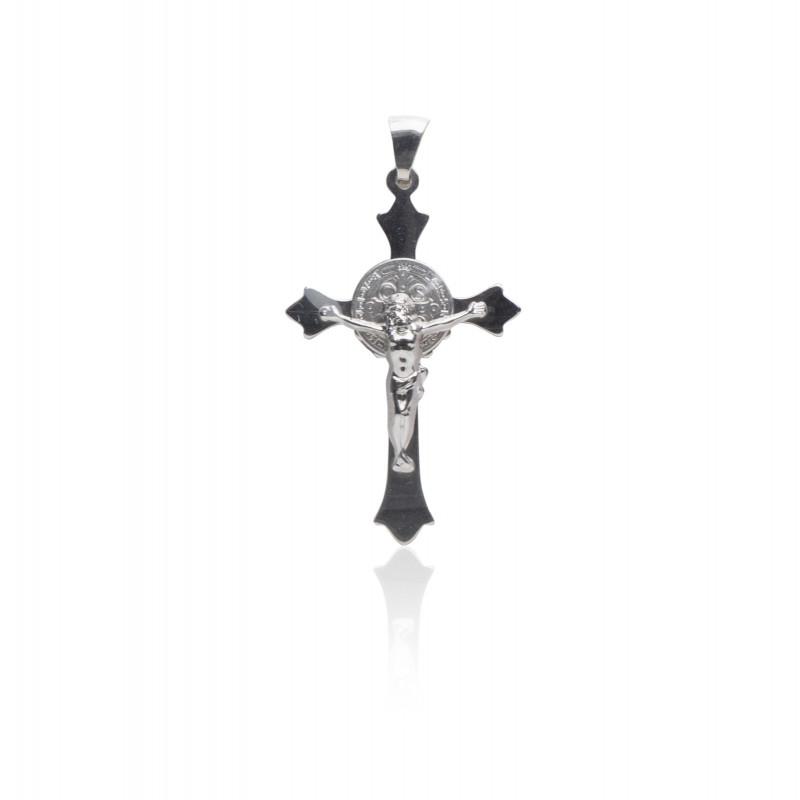 Kettenanhänger Kreuz, 925 Silber