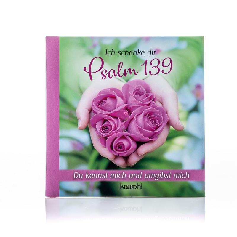 """Geschenkbuch """"Psalm 139"""""""