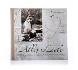"""Geschenkbuch zur Hochzeit """"Alles Liebe"""""""