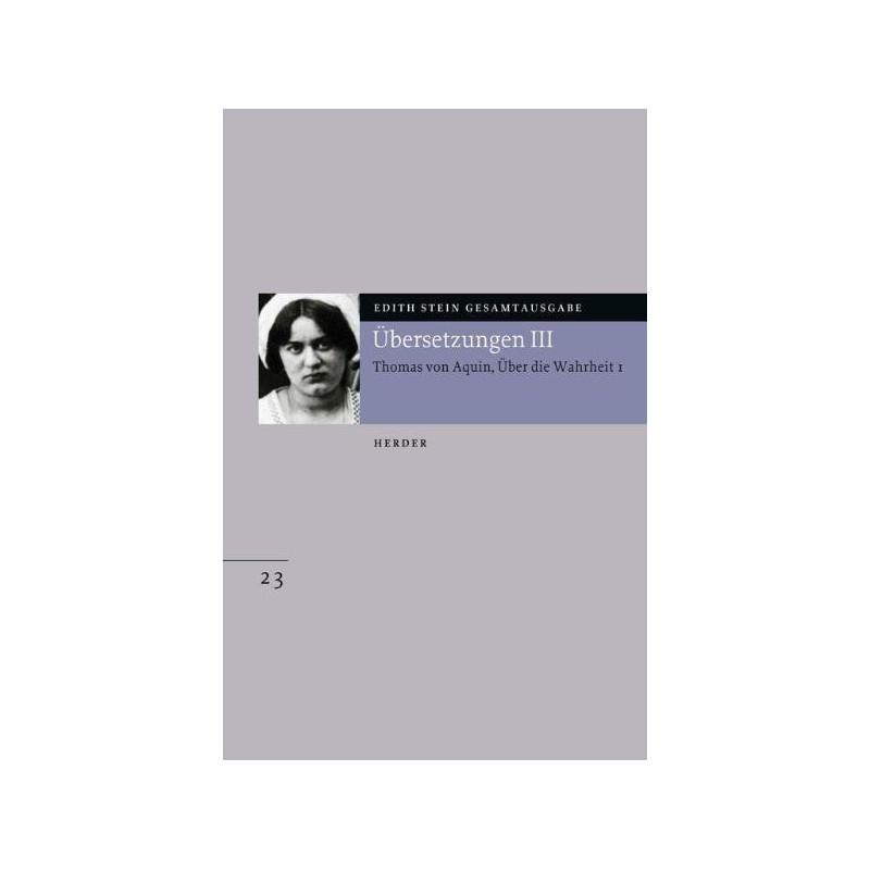 Edith Stein Gesamtausgabe Nr.23