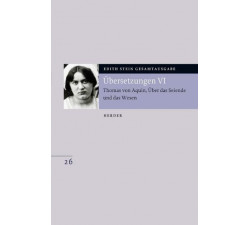 Edith Stein Gesamtausgabe Nr.26