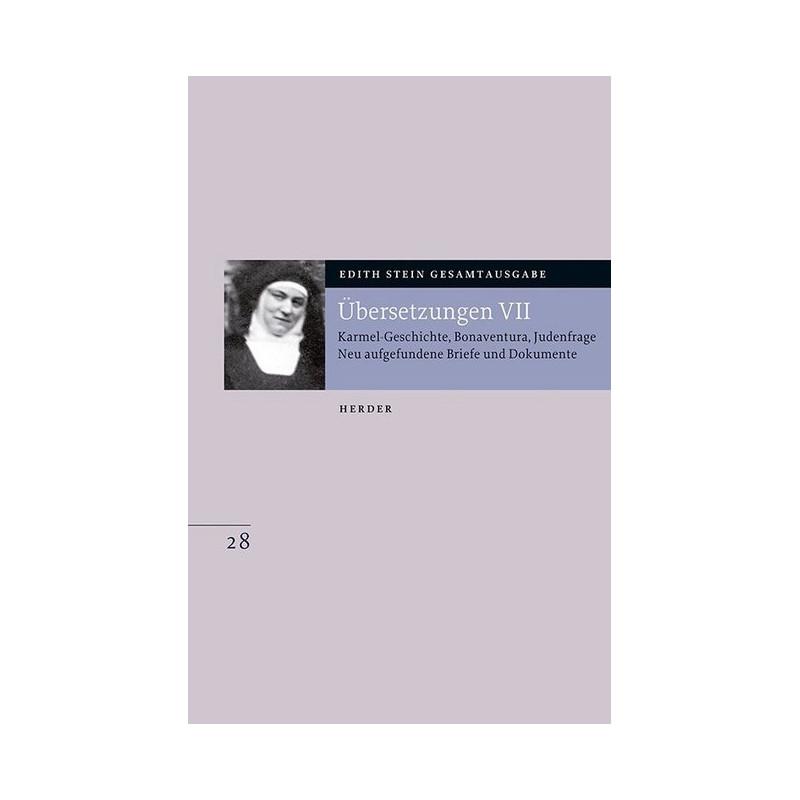 Edith Stein Gesamtausgabe Nr.28