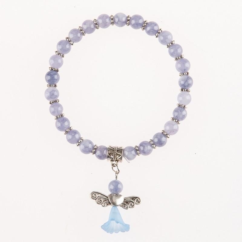 Engel-Armband aus Edelstein